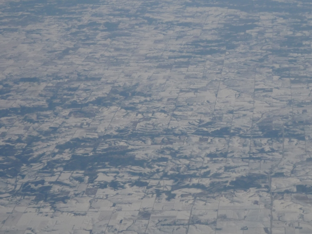 aerial-- i think over the dakotas somewhere