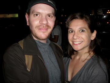 the night i met suzy!